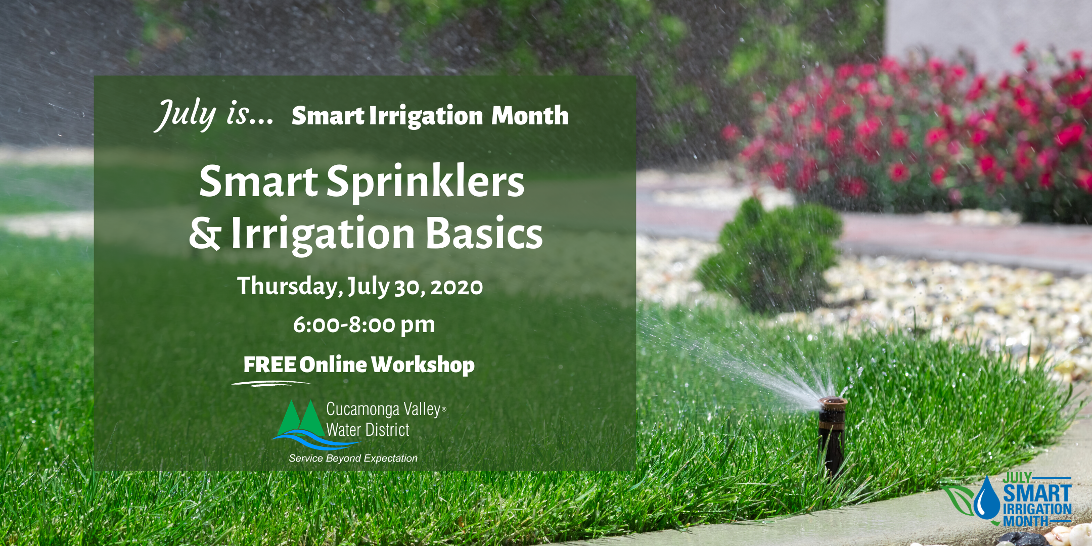 Banner of Smart Sprinklers